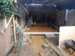 Kitchen extension footings Ealing W5