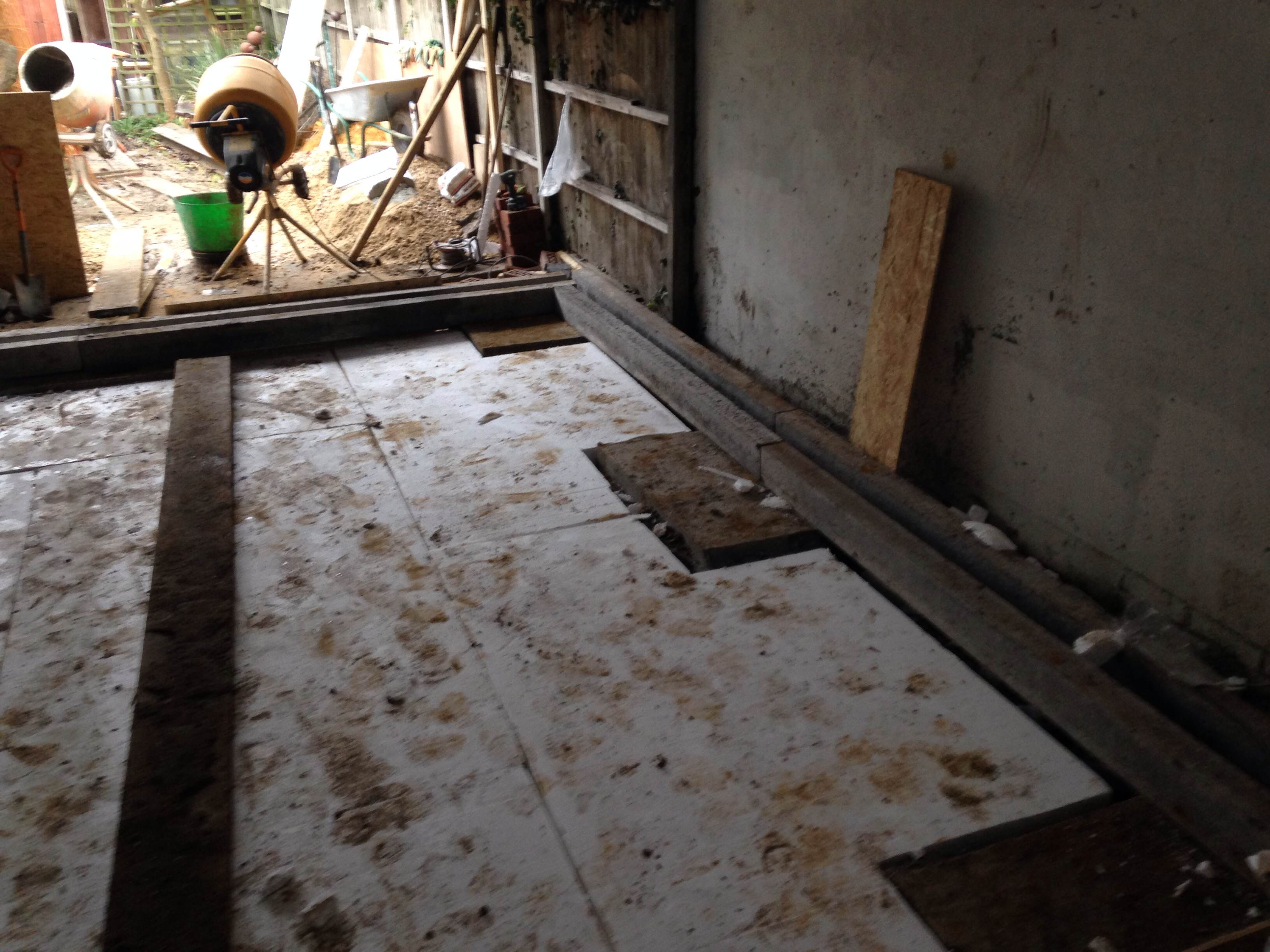 Kitchen Ealing Cellcore Hx Ready For The Slab Kitchen Extension Ealing W5