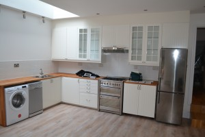 Side return infill kitchen extensions