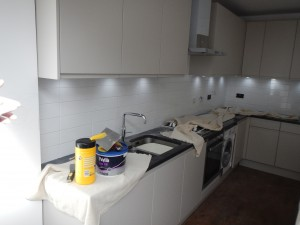 Kitchen extension in Ealing W5 is almost finished!