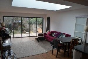 Kitchen extension in Ealing W5 finished!