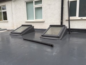 GRP roof finished and kitchen installation at Streatham Hill SW2