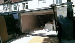 Streatham Hill SW2 – Kitchen extension glass sliding doors