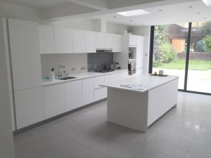 Kitchen extension Streatham Hill SW2 – finishing touches