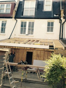 Project Morgan – Roof going on Chiswick W4