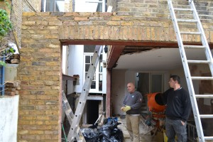 Kitchen extension Shepherds Bush W12