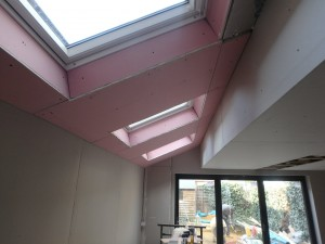 Velux windows and bi-folds – Kitchen extension W4
