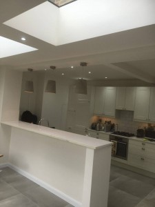 Kitchen extension complete Putney SW15