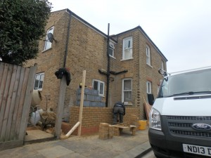 Side return infill kitchen extension in Isleworth TW7